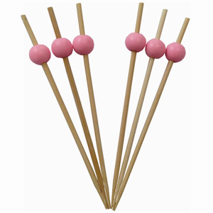 Bamboo Cocktail Bead Skewers