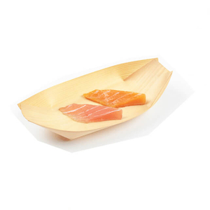 225mm Wooden Sushi Boat