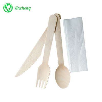 How is wooden cutlery made?