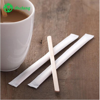 What is wooden coffee stirrer?