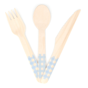 Disposable Wood Cutlery WNC1016
