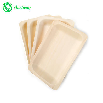 What is disposable wooden plates?